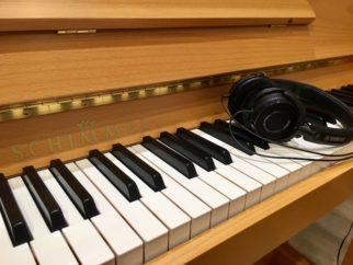 SCHIMMEL 122 KE TWINTONE (Silent Yamaha) Hêtre Satiné